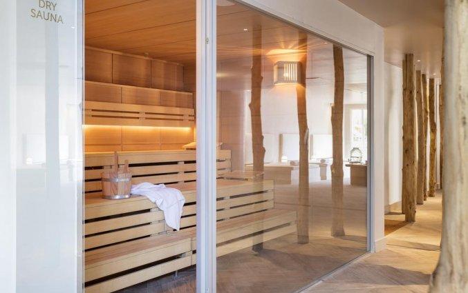 Sauna van Luna Club Hotel & Spa aan de Costa Brava