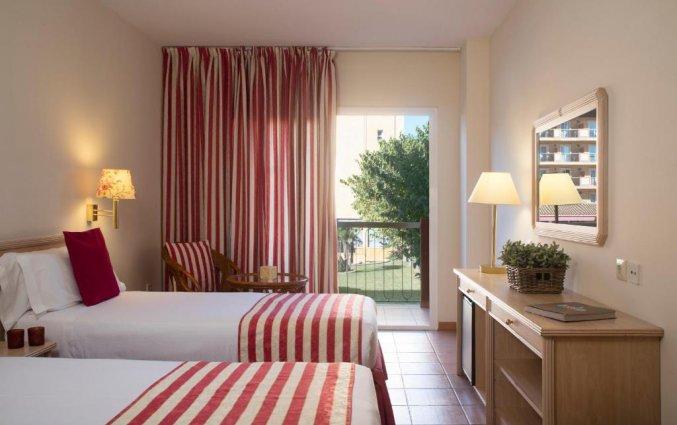Tweepersoonskamer van Luna Club Hotel & Spa aan de Costa Brava