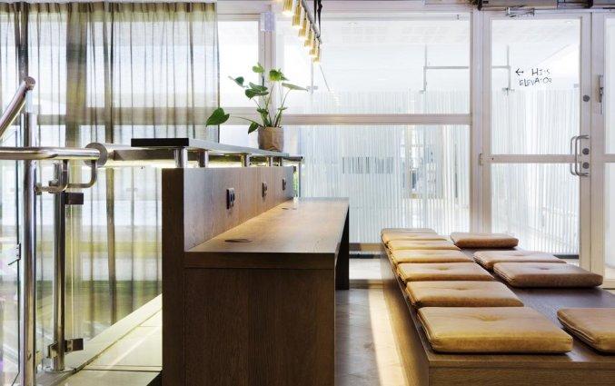 Zitgedeelte van Comfort hotel Xpres Stockholm Central