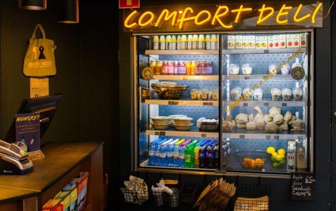 Snackbar van Comfort hotel Xpres Stockholm Central