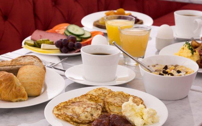 Ontbijt in Hotel Gamla Stan in Stockholm