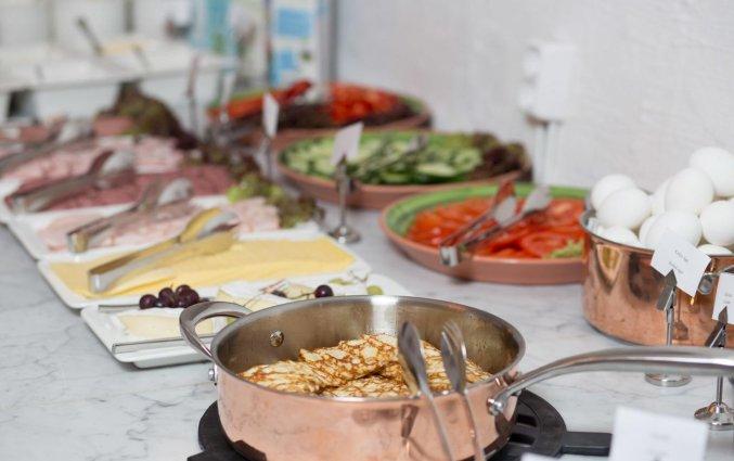 Ontbijtbuffet van Hotel Gamla Stan in Stockholm