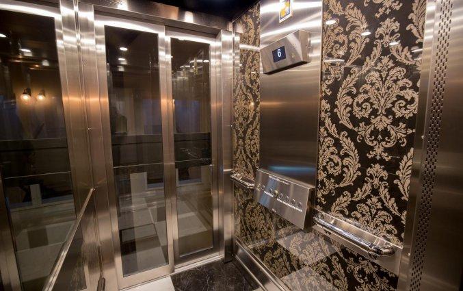 Lift in Hotel Gamla Stan in Stockholm