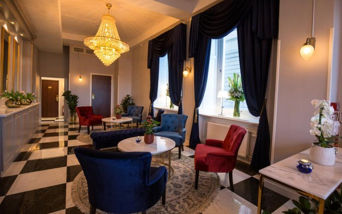 Zitgedeelte in Hotel Gamla Stan in Stockholm