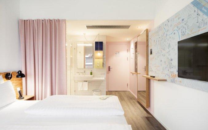 Tweepersoonskamer van Hotel Schani Wien in Wenen