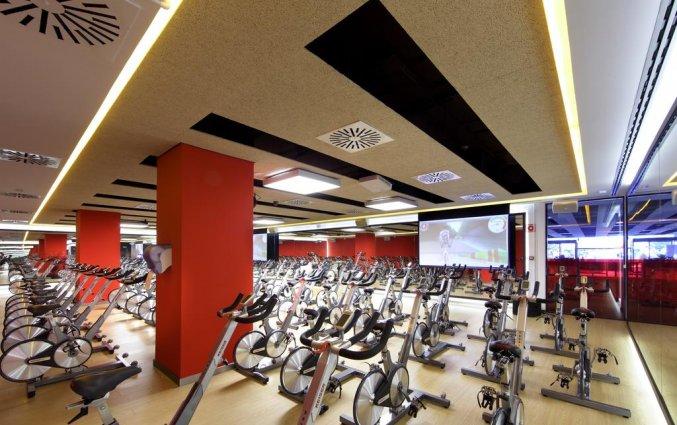 Fitnesscentrum van Hotel Occidental in Bilbao
