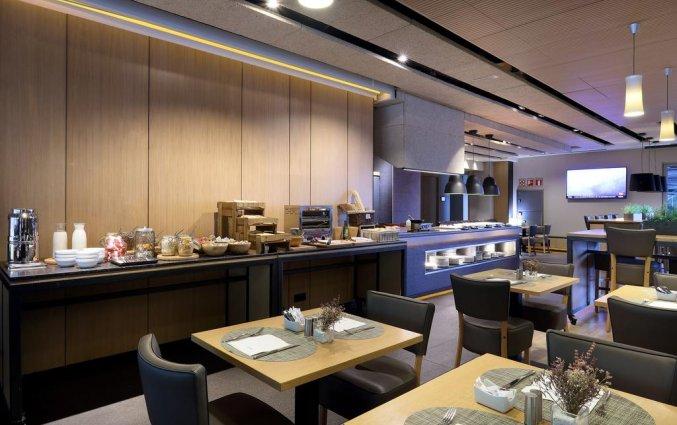 Ontbijtbuffet van Hotel Occidental in Bilbao