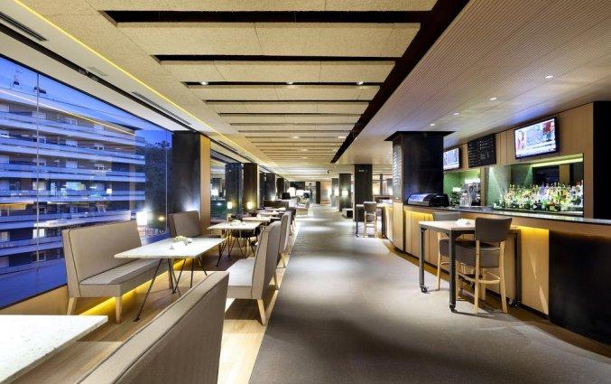 De bar van Hotel Occidental in Bilbao