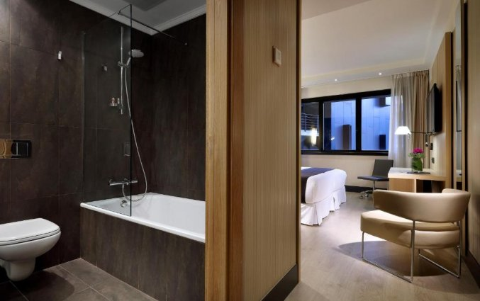 Kamer van Hotel Occidental in Bilbao