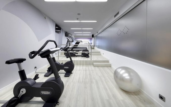 Fitnessruimte van Hotel Barcelo Bilbao Nervion