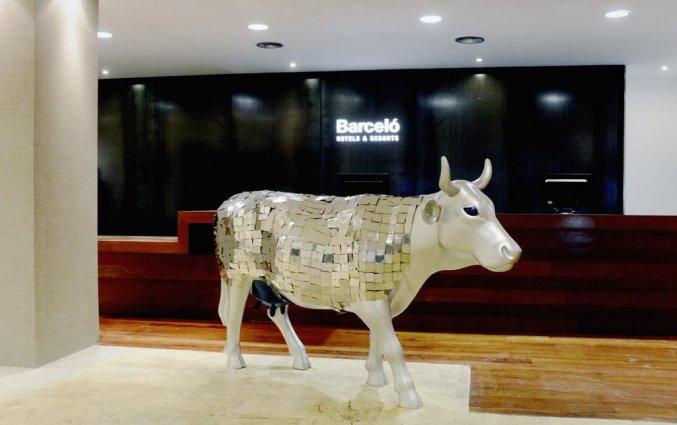 Receptie van Hotel Barcelo Bilbao Nervion