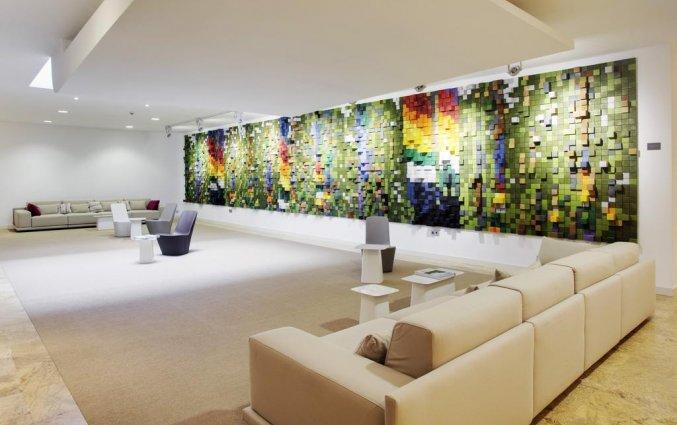 Lobby van Hotel Barcelo Bilbao Nervion