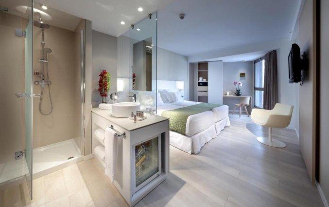 Tweepersoonskamer van Hotel Barcelo Bilbao Nervion