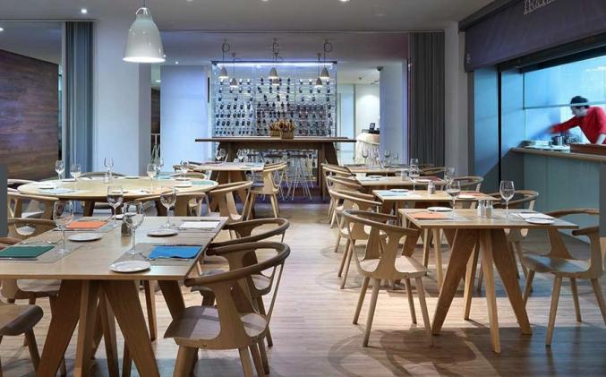 Restaurant van Hotel Barcelo Bilbao Nervion
