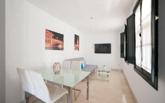Woonkamer in een appartement van Patio de la Cartuja in Sevilla