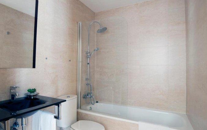 Badkamer in een appartement van Patio de la Cartuja in Sevilla
