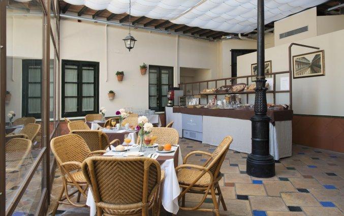 Ontbijtzaal van Patio de la Cartuja in Sevilla