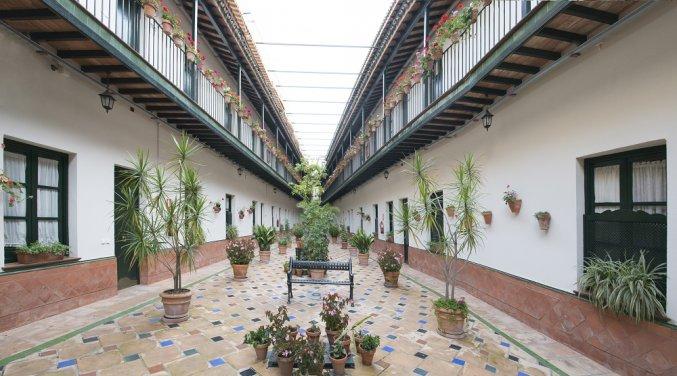 Patio van Patio de la Cartuja in Sevilla
