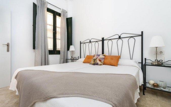 Slaapkamer in een appartement van Patio de la Cartuja in Sevilla