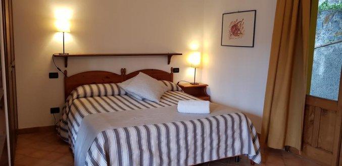 Slaapkamer van Borgo San Francesco in Sicilië