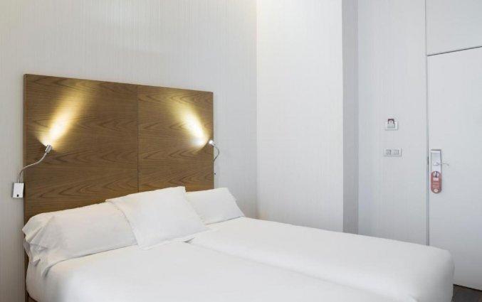 Tweepersoonskamer van hotel Petit Palace Plaza Malaga