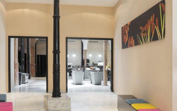 Lobby van hotel Petit Palace Plaza Malaga