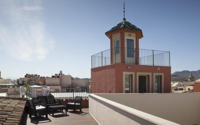 Dakterras van hotel Petit Palace Plaza Malaga