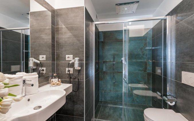 Badkamer van hotel Mastino in Verona