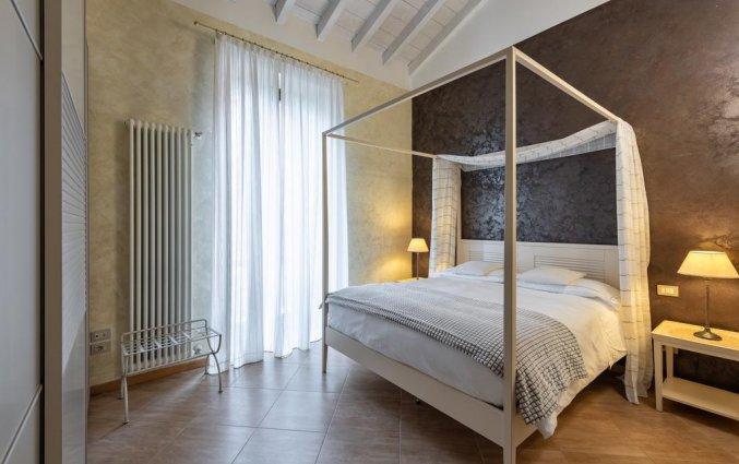 Tweepersoonskamer van hotel Mastino in Verona