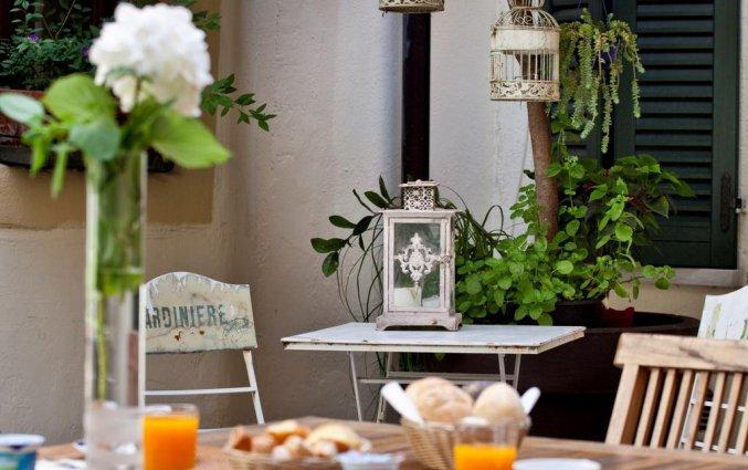 Ontbijt van hotel Scalzi Verona
