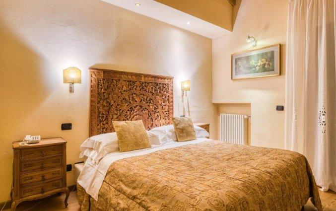 Tweepersoonskamer van hotel Scalzi Verona