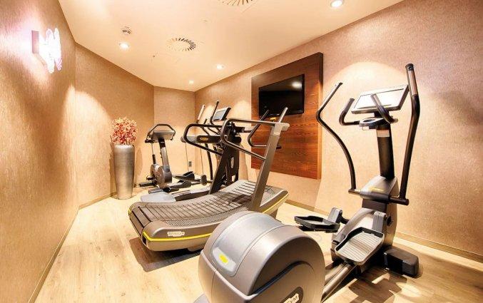 Fitnessruimte van NYX Hotel Bilbao by Leonardo Hotels