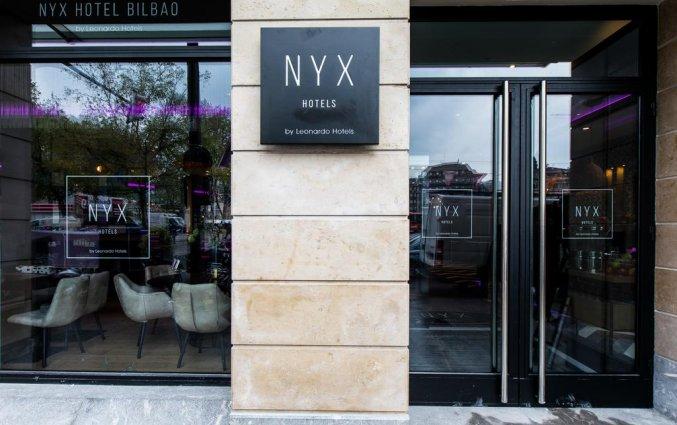 Entree van NYX Hotel Bilbao by Leonardo Hotels