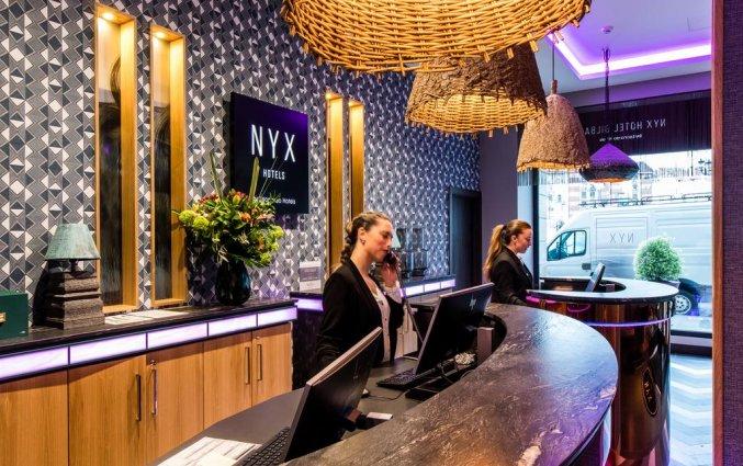 Receptie van NYX Hotel Bilbao by Leonardo Hotels