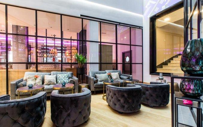 Lounge van NYX Hotel Bilbao by Leonardo Hotels