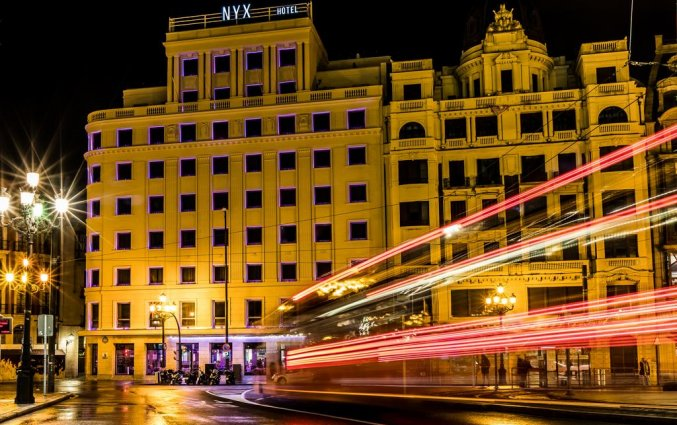 Gebouw van NYX Hotel Bilbao by Leonardo Hotels