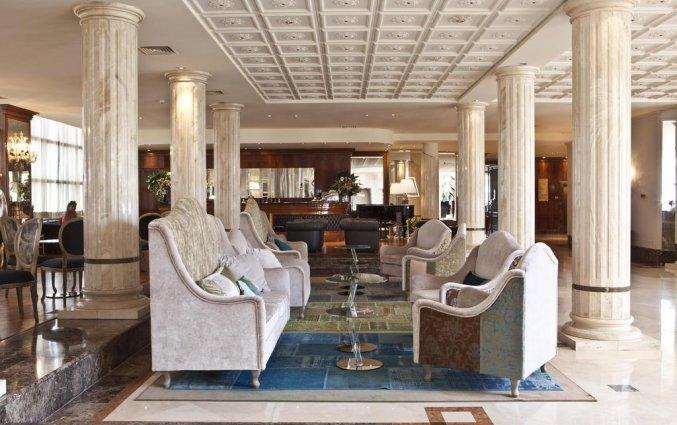Lounge van Hotel Leon d'Oro Verona