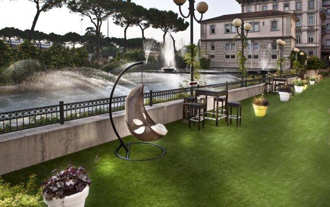 Terras van Hotel Leon d'Oro Verona