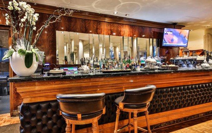Bar van Hotel Leon d'Oro Verona