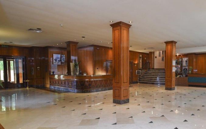 Receptie van Hotel Leon d'Oro Verona