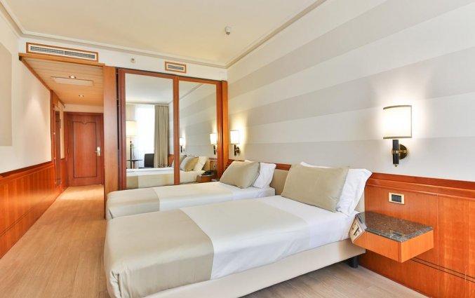 Tweepersoonskamer van Hotel Leon d'Oro Verona