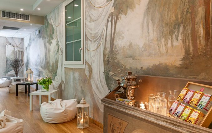 Lounge van hotel Marco Polo Verona
