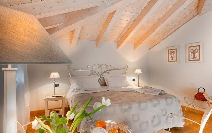 Tweepersoonskamer van hotel Marco Polo Verona