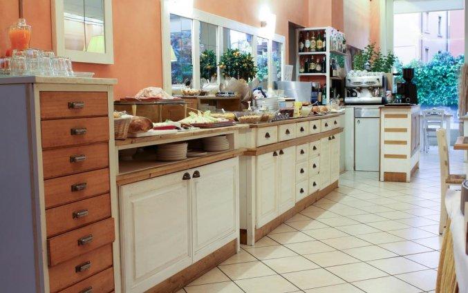Ontbijt van hotel Italia Verona