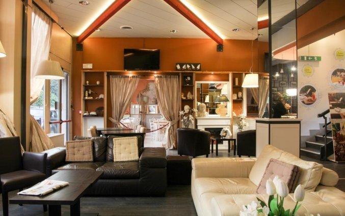 Lounge van hotel Italia Verona
