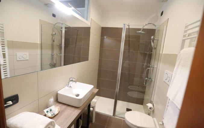 Badkamer van hotel Italia Verona
