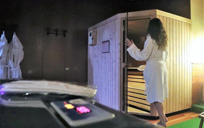 Sauna van hotel Italia Verona