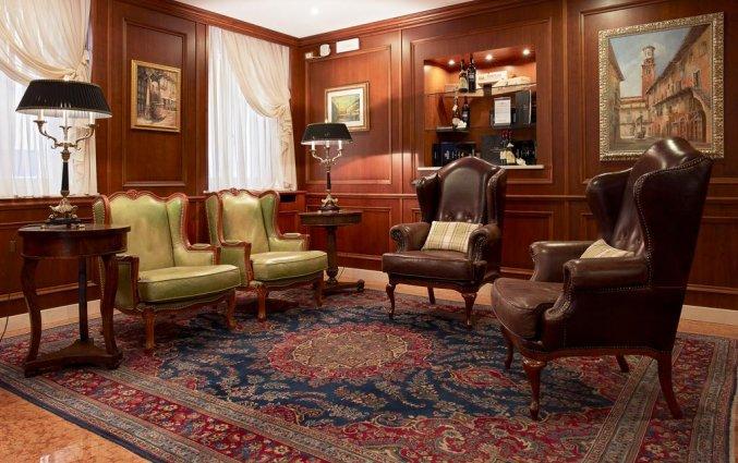 Lobby van hotel Albergo Mazzanti Verona