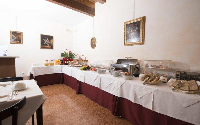 Ontbijt van hotel Albergo Mazzanti Verona