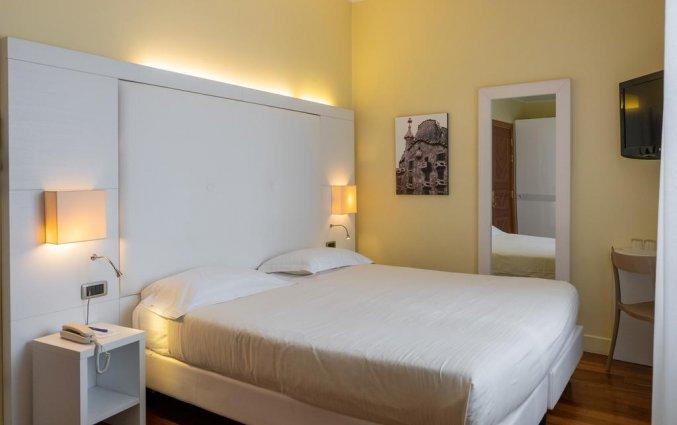 tweepersoonskamer van Hotel Giulietta e Romeo Verona